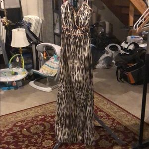 Awesome The Limited Leopard Print Maxi Dress (8)